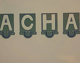 Semi Truck Letters Decal
