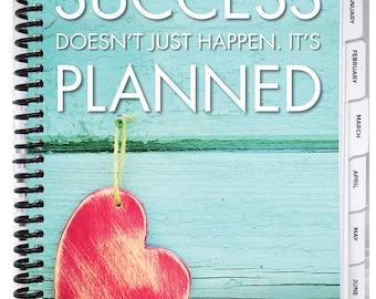 Best Planner Ever- Heart Planner - 2018 Daily Planner, Goal Setting, Mindset Tool, Organizer, Day Planner, Planner 2018