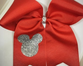 minnie bow, disney bow, disney trip, minnie hair bow, minnie hair clip, disney hair bow, bows for girls, big bows, cheer bow