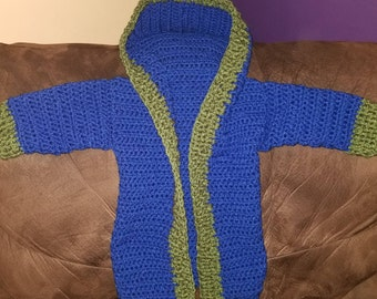 6 to 9 months, crochet cardigan