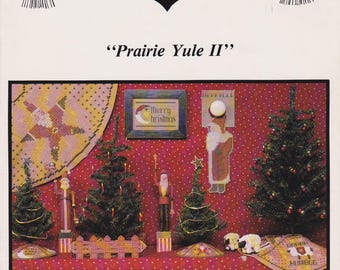 Cross Stitch Pattern Stitches from the Heartland Prairie Yule II 1984 Primitive Christmas