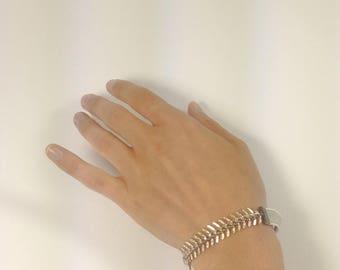 VINTAGE CHAIN BRACELET // eco jewellery