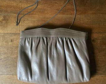 Vintage Ande Clutch with Optional Chain, 1960s Ande Vintage Purse