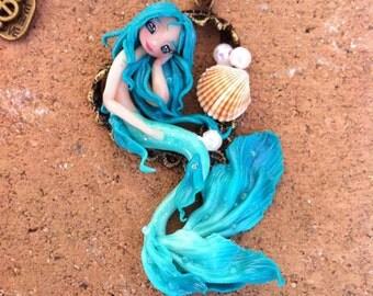 Little Blue/Green Mermaid