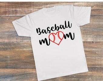 Baseball Mom t-shirt, Baseball Mom shirt, Baseball Mom tee