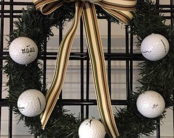 Sports Wreath - Golf