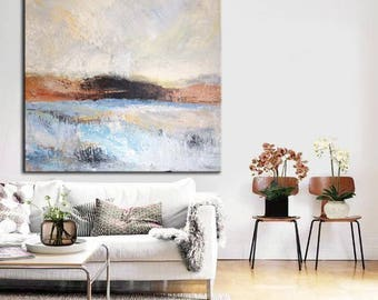 Abstract Painting Oil Original Art Canvas Large Acrylic