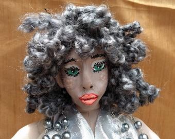 Disco Diane Art Doll OOAK