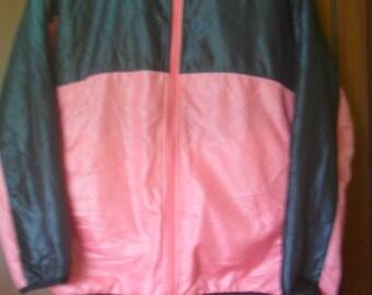 Vintage Reversible Yonex Fleece Hooded Jacket//Badminton Brand//Made in China//Size M