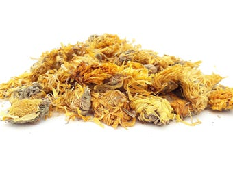 Dried Marigold  Flowers, 5g -50g, Calendula Flowers, Tea, Infusion, Tincture, Natural Tea, Biodegradable, Dried Flowers, Premium Quality