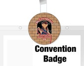 Be Courageous Convention Badge Holder   JW Special Convention Gifts   jw Convention Badge Holder   JW Badges   Convention Buttons   JW.org