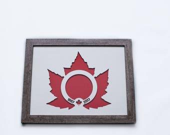 Canada 150 | 3D Stencil Art | Anniversary