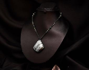 Turquoise necklace Tibetan Kiabate