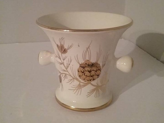 Hand Painted Gouda Pottery, Mid Century Gouda Dutch Pestle, Gouda flora Dec Denna, Flora Gouda Pottery, Dutch Pestle Style Vase, #Gouda