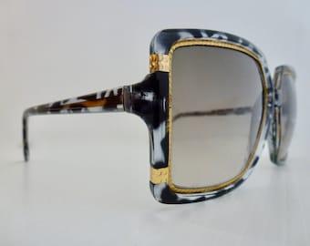 Ted Lapidus - TL1509 Sunglasses, Original 1970's perfection