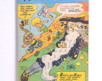 Fun with Basky and Robin-Baskin Robbins Promotional Comic 1980