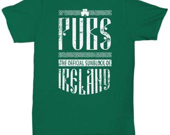 Funny St. Patrick's Day T-Shirt - Funny Irish Pride Tee - Funny St. Paddy's Shirt - Funny Ireland Tee - Funny Ireland Gift