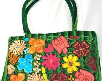 Indigenous Flower Print Purse
