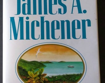 Caribbean Book , 1989 First Edition , James A Michener