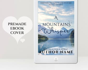 Tranquil eBook Cover - Premade eBook Cover - eReader Cover - NA eBook Cover - Women's eBook Cover - Romance eBook Cover - Kindle Cover