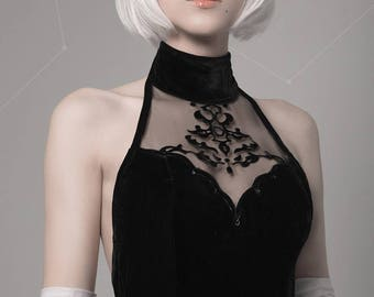 Made to order Nier: Automata cosplay wig 2B white hair short