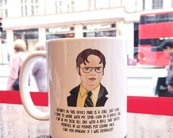 Central 23 Dwight Schrute Mug