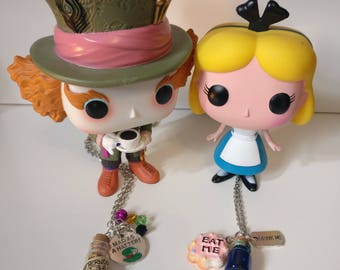 Necklace Alice in Wonderland Mad Hatter
