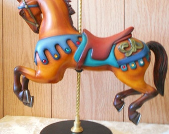 Carousel Horse Jumper-Tabletop Display Size