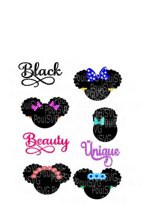 Black Girl Magic Svg Black Hair Svgvinyl T Shirt Design