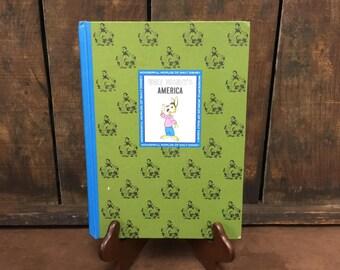 1965 Walt Disney's America Children's Book