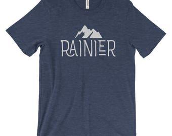 Mt. Rainier National Park Adventure Unisex Bella Canvas Tshirt