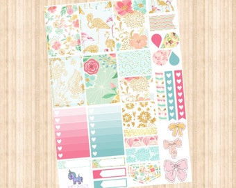 Blossom Weekly Kit // Happy Planner // Erin Condren // Personal