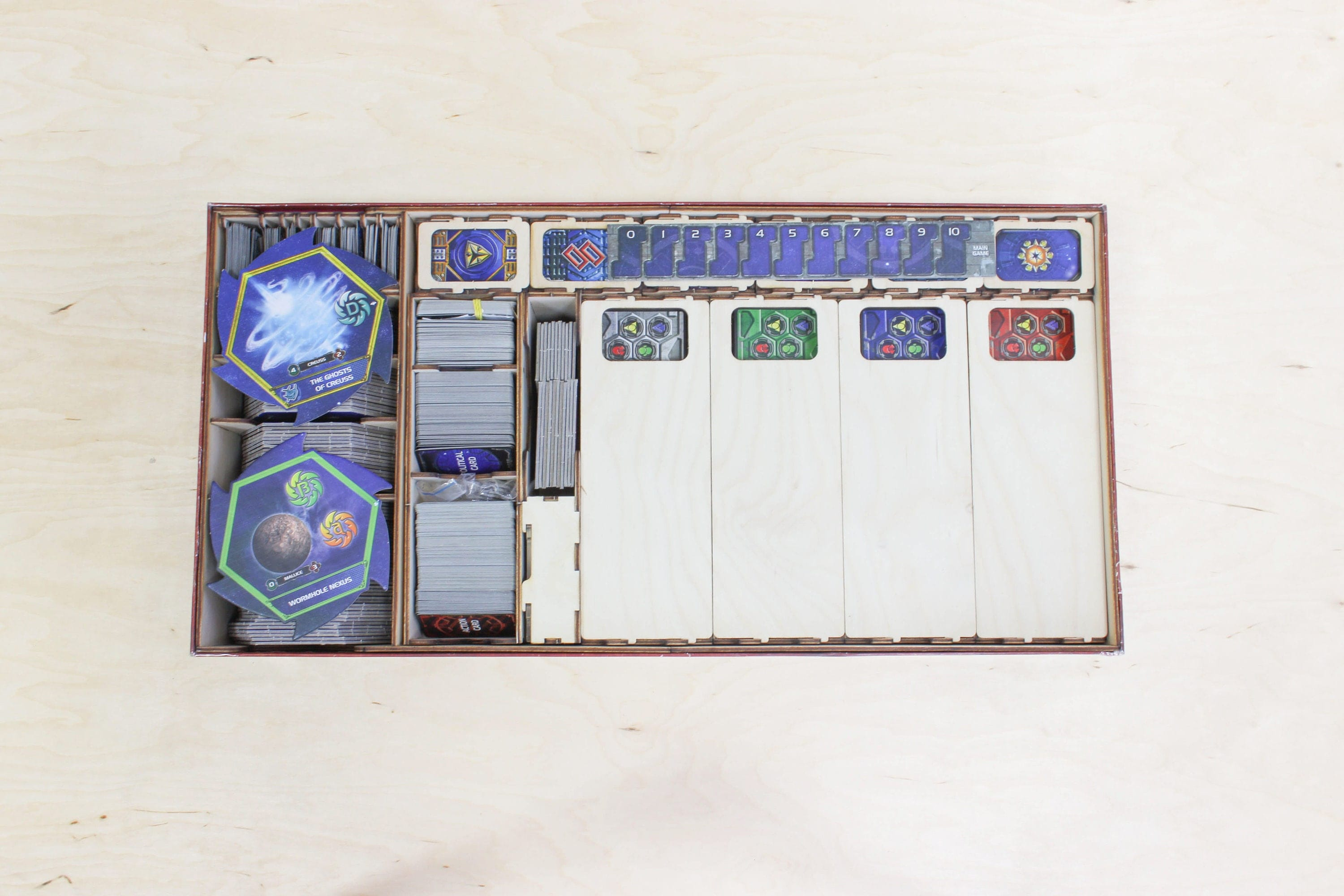 Twilight imperium third edition board game insert for Board game storage solutions
