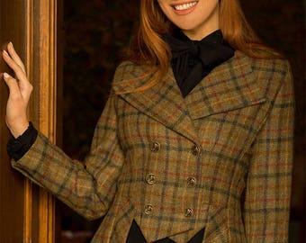 Lady Mary Jacket in Glencoe Tweed