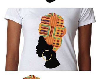 african print headwrap svg kente svg african woman cut files african pattern htv svg black history month svg cricut african american