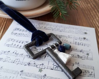 """Collection """"Little Ritual"""", tree decoration, key"""