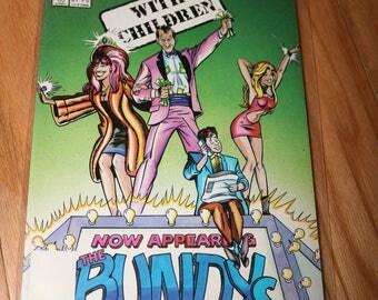 Married With Children Comic #1 Al Peggy Kelly Bud Bundy Vintage Christina Applegate