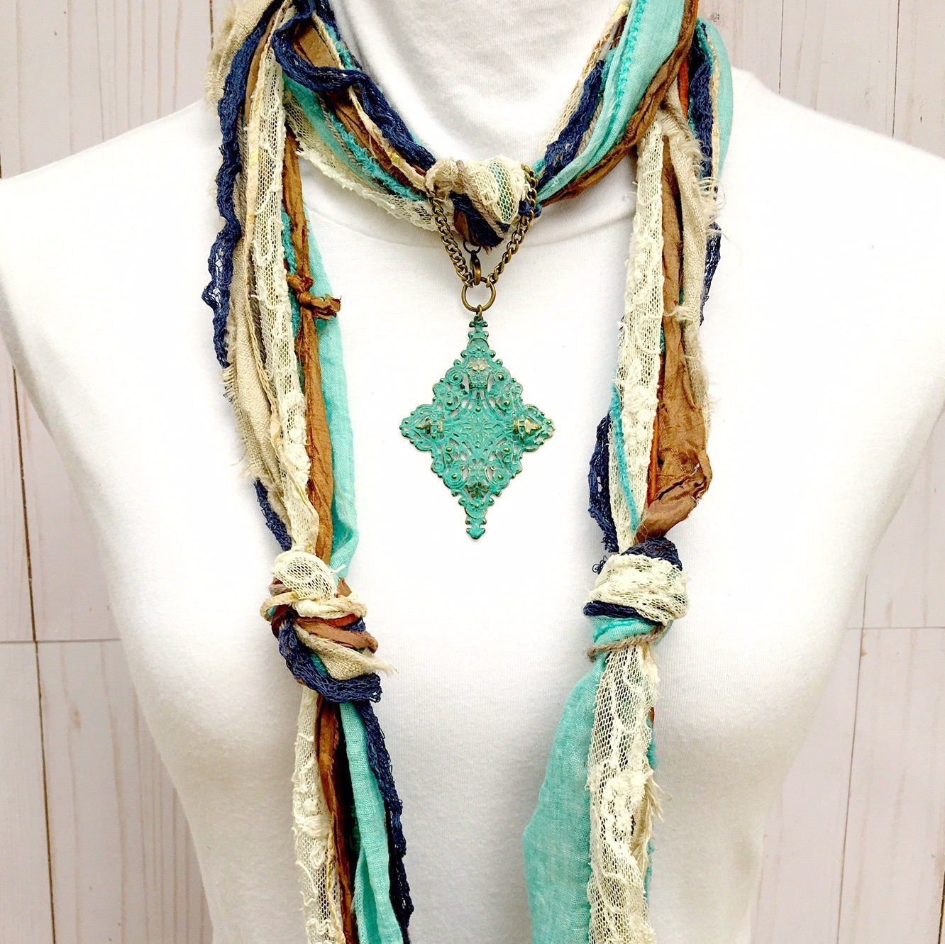 Turquoise scarf jewelry turquoise filigree pendant scarf turquoise scarf jewelry turquoise filigree pendant scarf necklace jewelry metal turquoise scarf pendant scarf ring scarf slide aloadofball Images
