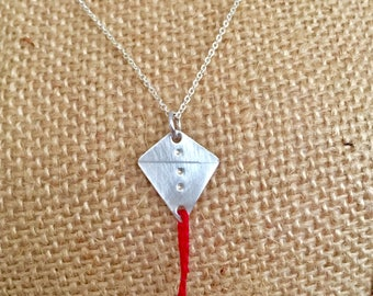 Go Fly A Kite Charm Necklace