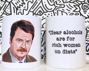 Ron Swanson - Parks and Recreation
