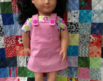 Jumper and Top for an 18 inch Doll