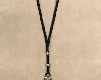 Celluloid Ladies Bolo Necklace
