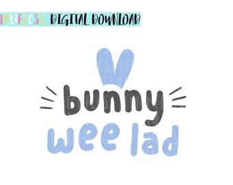 Easter SVG, Easter Bunny SVG, Unicorn SVG, Easter Decorations, svg Files, svg Bunny, Tshirt Design svg, Cute Bunny svg, Bunny Wee Lad svg