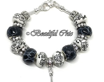 I Love Paris! European Style Charm Bracelet