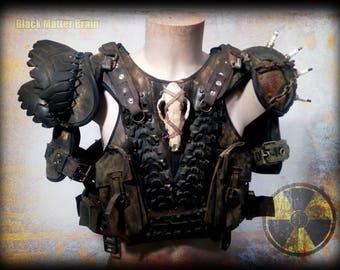 Post Apocalyptic Warrior armor-post apocalyptic army-wasteland warrior