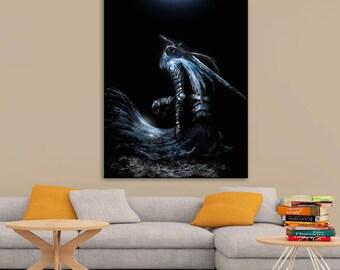 Dark Souls Art Poster A0, A1, A2, A3, A4 Sizes Matte, Glossy Paper