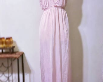 Vintage Soft Baby Pink Nightgown