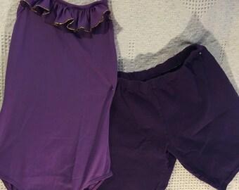 Body Suit/2 piece/Grape