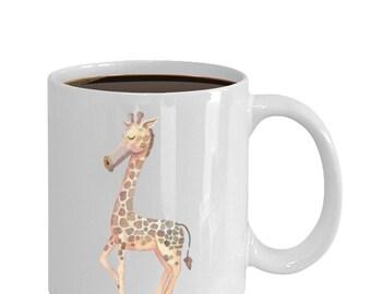 Cute Giraffe Gift Mug - Giraffe Mug - Giraffe Gift - Giraffe Coffee Mug