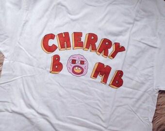 Cherry Bomb T-shirt Tyler The Creator T-shirt Earl Sweatshirt T-shirt OFWGKTA Golf Wang T-shirt Skate shirt Frank Ocean Tshirt 90th Teen Tee